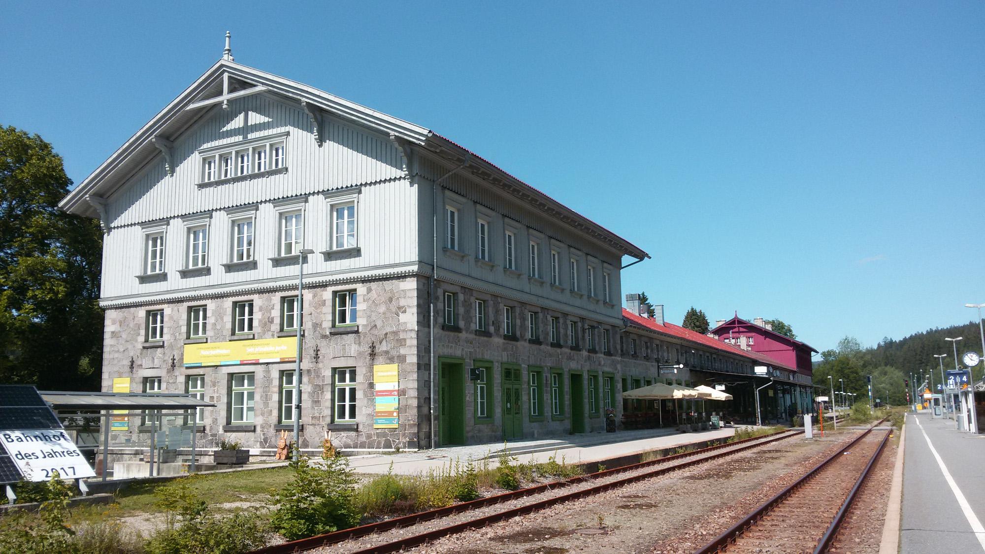 nádraží v Železné Rudě - Albětíně